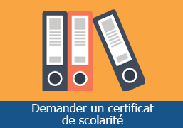 demarches certificat de scolarite