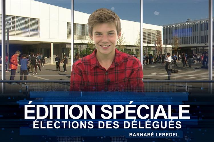 Édition spéciale du 12.14 sur les élections des délégués 2018