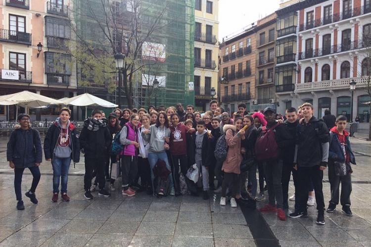 Première journée du voyage en Espagne dans la ville de Tolède