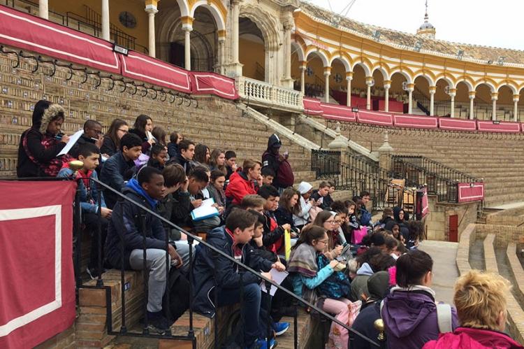 3ème journée du voyage en Espagne dans la ville de Séville