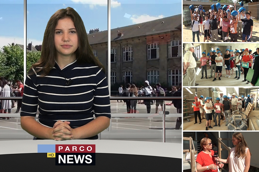 """Journal Télévisé du collège : 20ème édition du """"Parco News"""""""