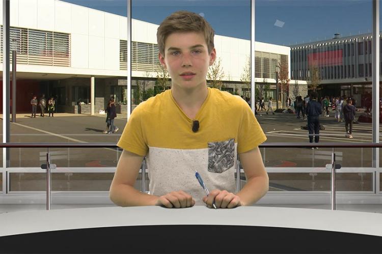 """5ème édition du """"12.14"""", le Journal Télévisé du collège"""